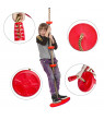 Climbing Rope Swing with Platform and Disc Swing Set Rope Ladder for Kids Outdoor Tree Backyard Playground Swing