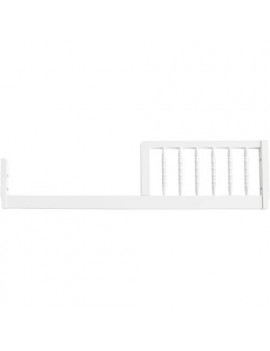 DaVinci Jenny Lind Toddler Bed Conversion Kit in White Finish