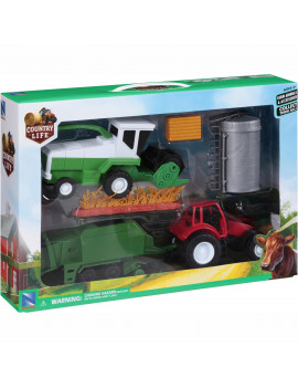 NewRay Country Life Farm Animals & Accessories Playset