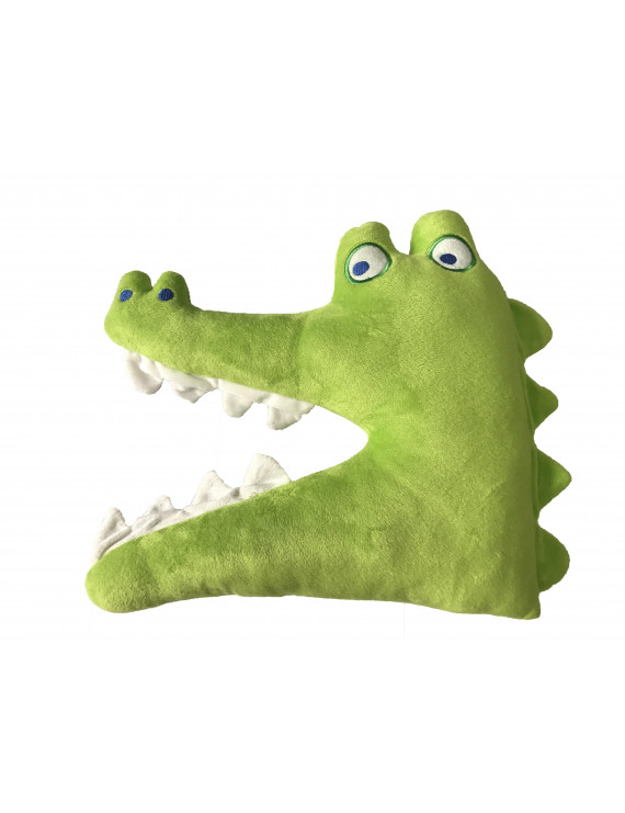 Alligator Decorative Pillow for Kids by Mainstays