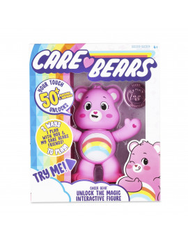 NEW 2020 Care Bears - Interactive Figure - Cheer Bear - Your Touch Unlocks 50+ Reactions & Surprises!