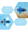 Mini Remote Control Submarine Vehicle 4CH Electronic Ship Subs Water Toy Waterproof for Pools Fish Tank Kids Gift