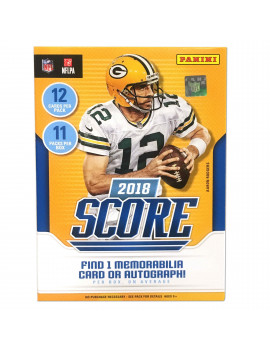 2018 Panini Score Football: NPP Blaster Box (92167) - 11 packs of 12 cards