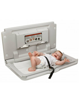 Alpine Industries Horizontal Wall Mounted Diaper Baby Changing Station