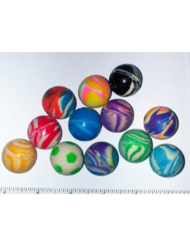 144 Piece 27 MM Bouncy Ball Assortments