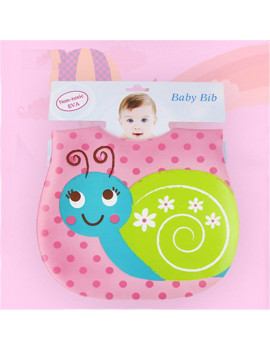 Akoyovwerve Super Soft Sponge Inter-Lining Three-Dimensional Waterproof Disposable Eating Bib For Baby