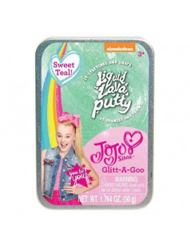 Just Play Nickelodeon JoJo Siwa Liquid Lava Putty Sweet Teal Glitt-A-Goo