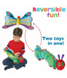 The World Of Eric Carle The Very Hungry Caterpillar Reversible Caterpillar and Butterfly Plush