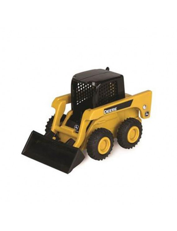 Tomy International 7447006 John Deere Skid Steer Loader - Yellow