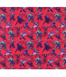 SheetWorld Fitted 100% Cotton Percale Bassinet Sheet 15 x 33, Marvel Comics Red
