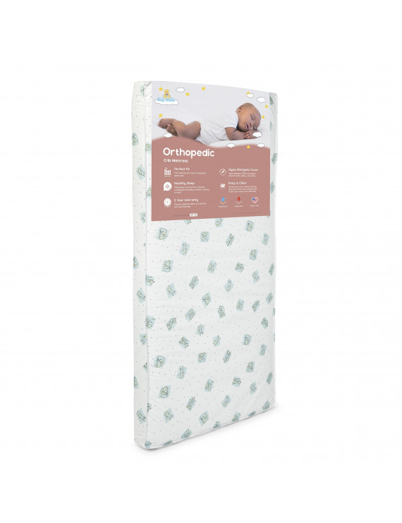 "Big Oshi Full Size 4"" Crib and Toddler Bed Mattress"