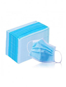 50 Pieces Disposable 3 Ply FaceMasks,for Baby Protect Comfy