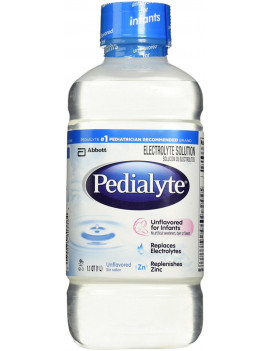 3 Pack - Pedialyte Oral Electrolyte Solution, Unflavored 33.80 oz