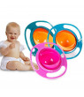 Universal Baby Gyro Anti Spill Bowl Smooth 360 Degrees Rotation Gyroscopic Bowl For kids