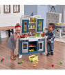 Step2 Modern FarmhousePlay Kitchen with 35 Piece Accessory Play Set