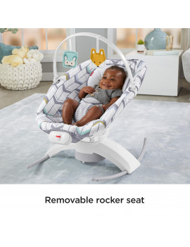 Fisher-Price 2-in-1 Soothe 'n Play Glider with 6-Speeds