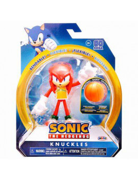 Sonic The Hedgehog - Knuckles with Basketball 4 Inch Action Figure