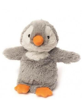 BABY GREY PENGUIN - WARMIES Cozy Plush Heatable Lavender Scented Stuffed Animal