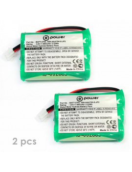 ((2 x pack)) T-Power 3.6v 900Mah Motorola Baby Monitors Battery TFL3X44AAA900 CB94-01A (Parent unit) Replacement Rechargeable Battery ((3.6V NIMH 900Mah))