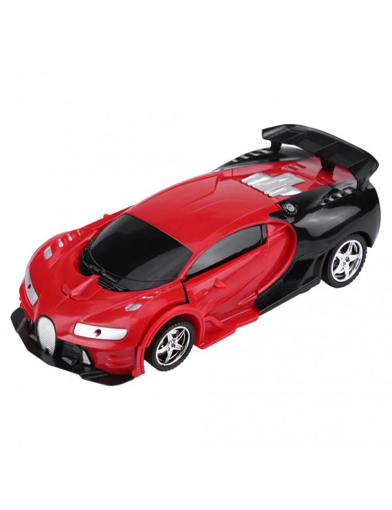 Ccdes 1/18 Scale Remote Control Vehicle One-key Deformation RC Car With Light, Deformed Car, Deformed Toy Vehicle