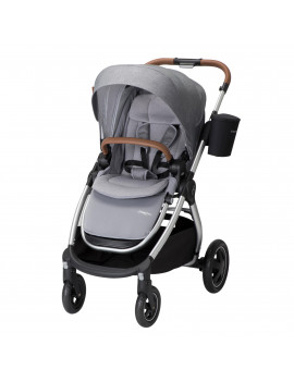 Maxi-Cosi Adorra Travel Easy Fold Compact Infant Baby Stroller, Nomad Gray