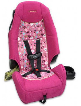 Cosco High Back Infant Booster Car Seat, Posies
