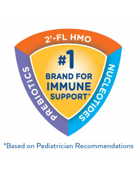Similac Pro-Advance Baby Formula For Immune Support, With 2'-FL HMO, 4 Count Powder, 23.2-oz Tub