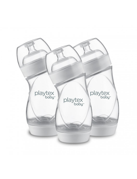 Playtex Baby VentAire Complete Tummy Comfort Baby Bottles, 9 oz, 3 pk