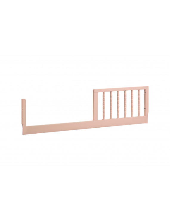 DaVinci Jenny Lind Toddler Bed Conversion Kit in Blush Pink