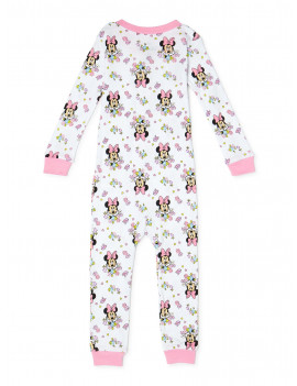 Minnie Mouse Baby Girls & Toddler Girls 1-Piece Snug Fit Cotton Footless Pajamas (9M-5T)