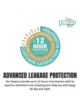 Predo Baby Diapers, Size 4, 112 Diapers