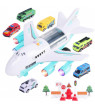 Gobestart Large Track Children's Toy Airplane Storage Aircraft Fire Engineering Car Set