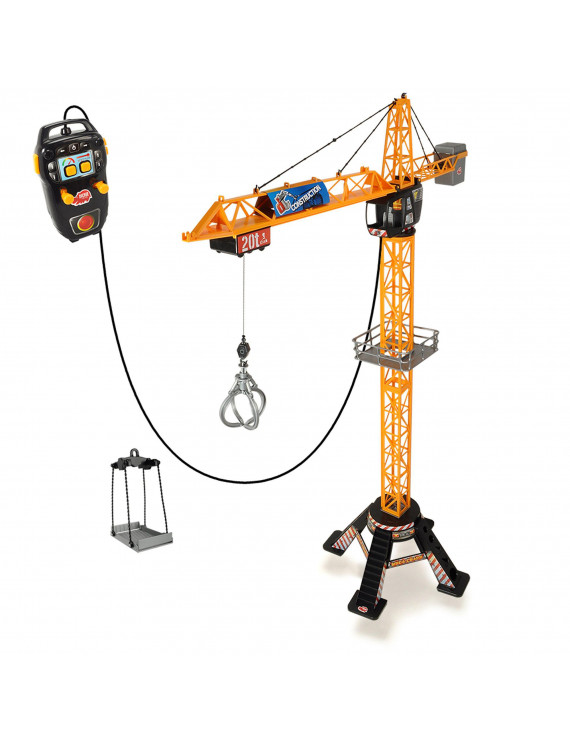 Dickie Toys - Mighty Construction Crane RC