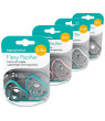Nanobebe Baby Pacifiers in Teal, Pink, White, or Grey, 2-Pack