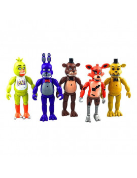 5pcs/Set Five Nights at Freddys Action Figures Toys Collection Kids Xmas Gift