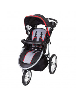 Baby Trend Cityscape Infant Safe Lightweight Sporty Jogger Stroller, Jolt Red