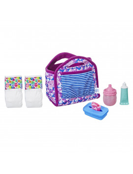 Baby Alive Diaper Bag Set, for Ages 3+, Holds Up To 6 Diapers