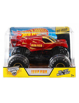 Hot Wheels Monster Jam 1:24 Die-Cast Ironman Vehicle