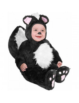 Baby Black Skunk Costume~18-24 Months / Black
