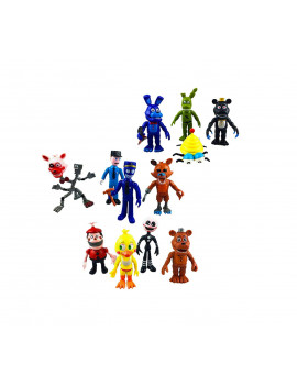 12 pack Five Nights at Freddy's Action Figures Toys Dolls, 4""