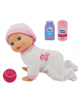 Baby Magic Crawling Baby Play Set w/ Toy Baby Doll (Scented)