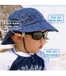 JAN & JUL Boys Bucket Sun Hat with UV Protection, Breathable Cotton (L: 2-5 years, Green)