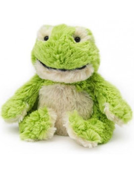 FROG JUNIOR WARMIES Cozy Plush Heatable Lavender Scented Stuffed Animal