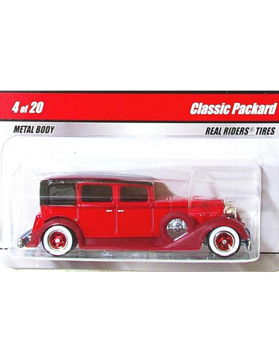 Hot Wheels Larry's Garage RED Classic Packard 4/20