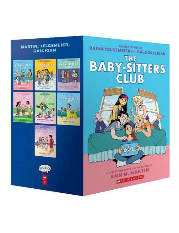 The Baby-Sitters Club Graphic Novels #1-7: A Graphix Collection: Full-Color Edition (The Baby-Sitters Club Graphix)