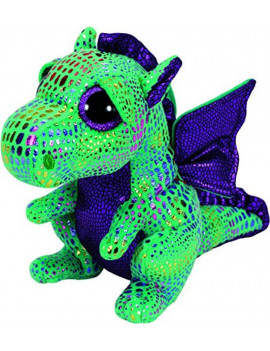 Cinder The Green Dragon Plush, Look for the familiar heart-shaped tag that means you've purchased an authentic Ty product By Ty Beanie Boos