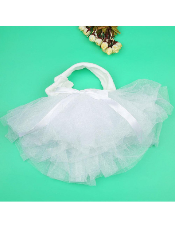 Mgaxyff Newborn Infant Baby Pettiskirt Gauze Bubble Skirt/Headband Set Photography Accessories,Baby Dress, Newborn Pettiskirt