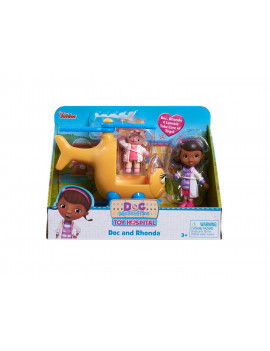 Doc Mcstuffins Toy Hospital Vehicle Set - Doc and Rhonda