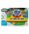 Toysery Multi-functional Educational Drum Toy Set for Kids with Two Drumsticks - Piano Toys for Toddler - Sparkling Lights & Music