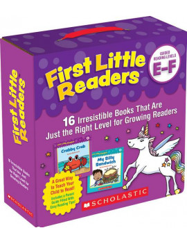 First Little Readers: First Little Readers: Guided Reading Levels E & F (Parent Pack): 16 Irresistible Books That Are Just the Right Level for Growing Readers (Other)